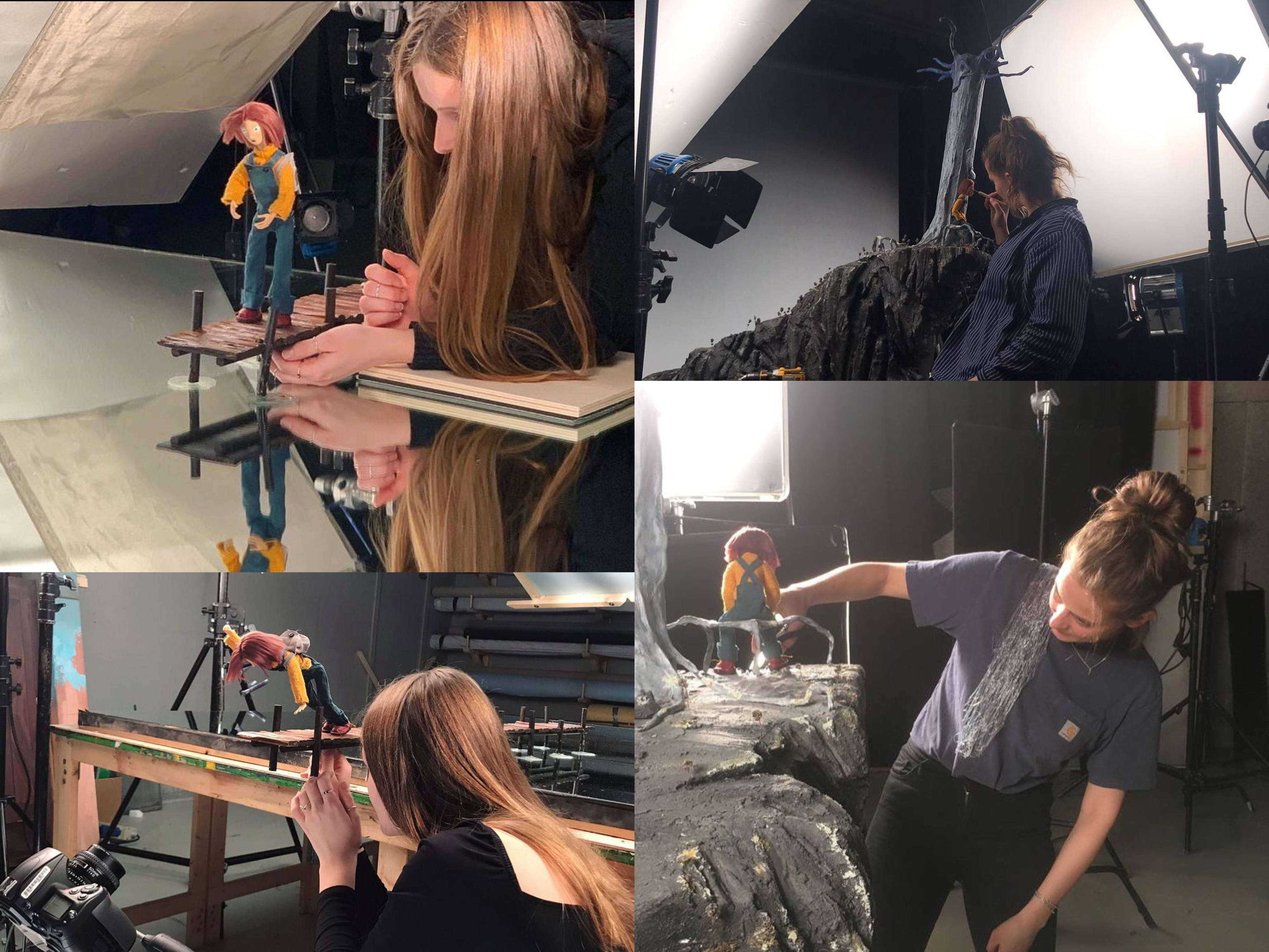 Werkwijze stop-motion film