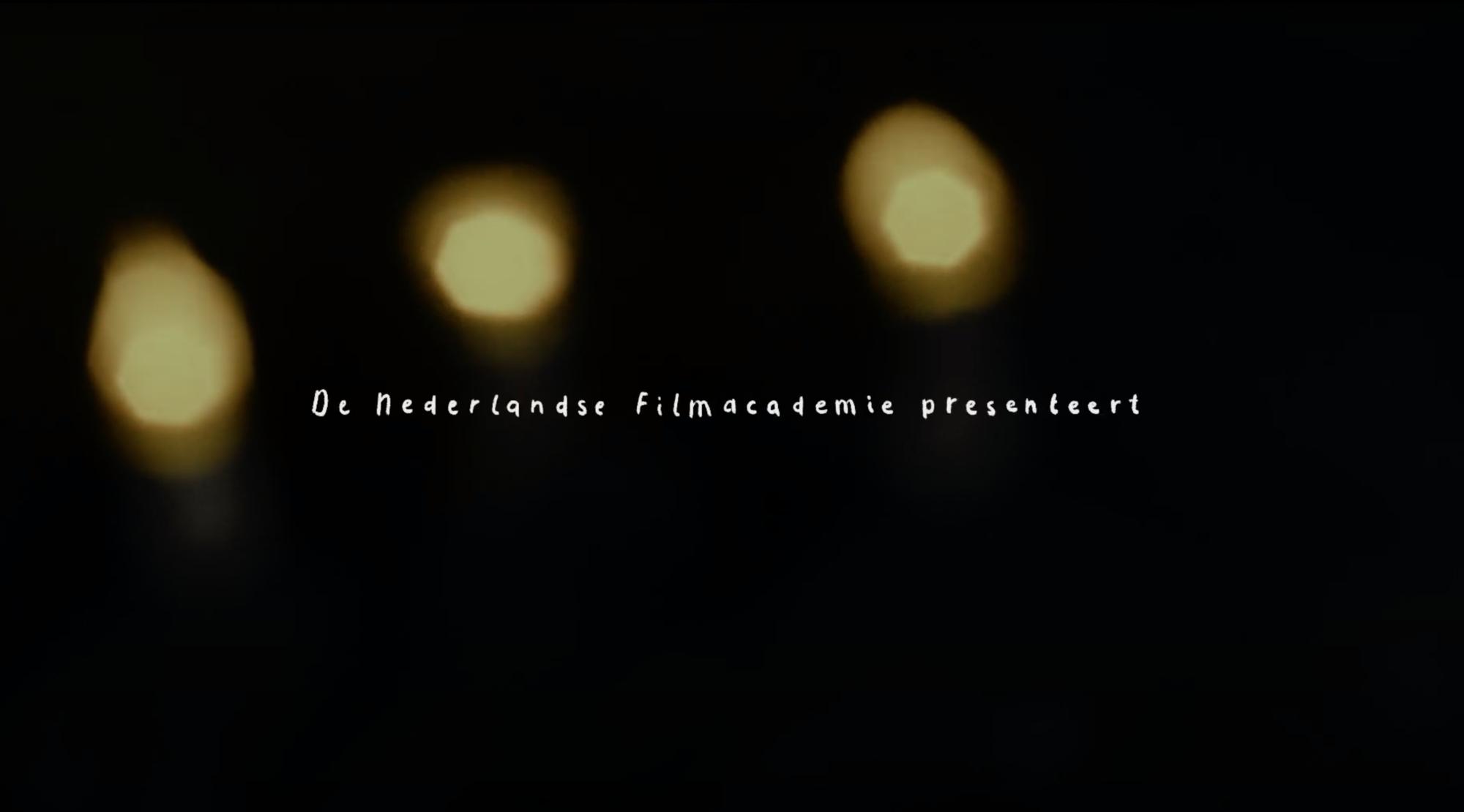 Nacht van de Nederlandse Filmacademie